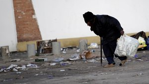 La Cañada Real de Madrid, uno de los barrios más duros que ha visto el relator de pobreza de la ONU, Philip Alston. Con los trapicheadores de droga conviven obreros precarios que tratan de salir adelante.