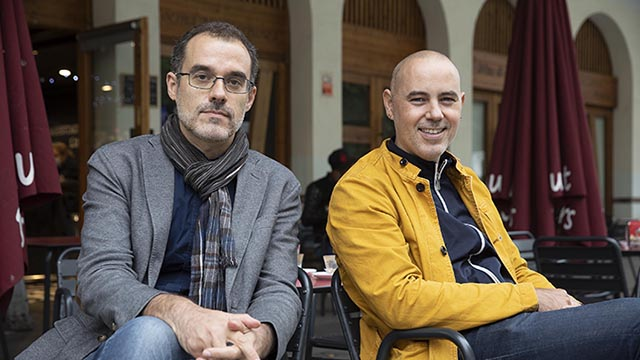 Cara a cara entre los concejales de Ciutat Vella, Jordi Rabassay Gràcia,Eloi Badia, sobre como sus distritos están saliendo de forma muy distinta de la pandemia.