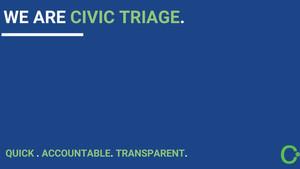 Civic Triage: IA para responder a la ciudadanía.