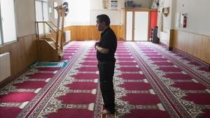 Interior de la mezquita de Ripoll.