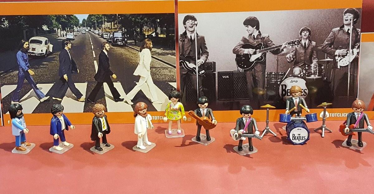 El Coleccionismo Playmobil ha ocupado este fin de semana el Recinto Ferial de Terrassa.
