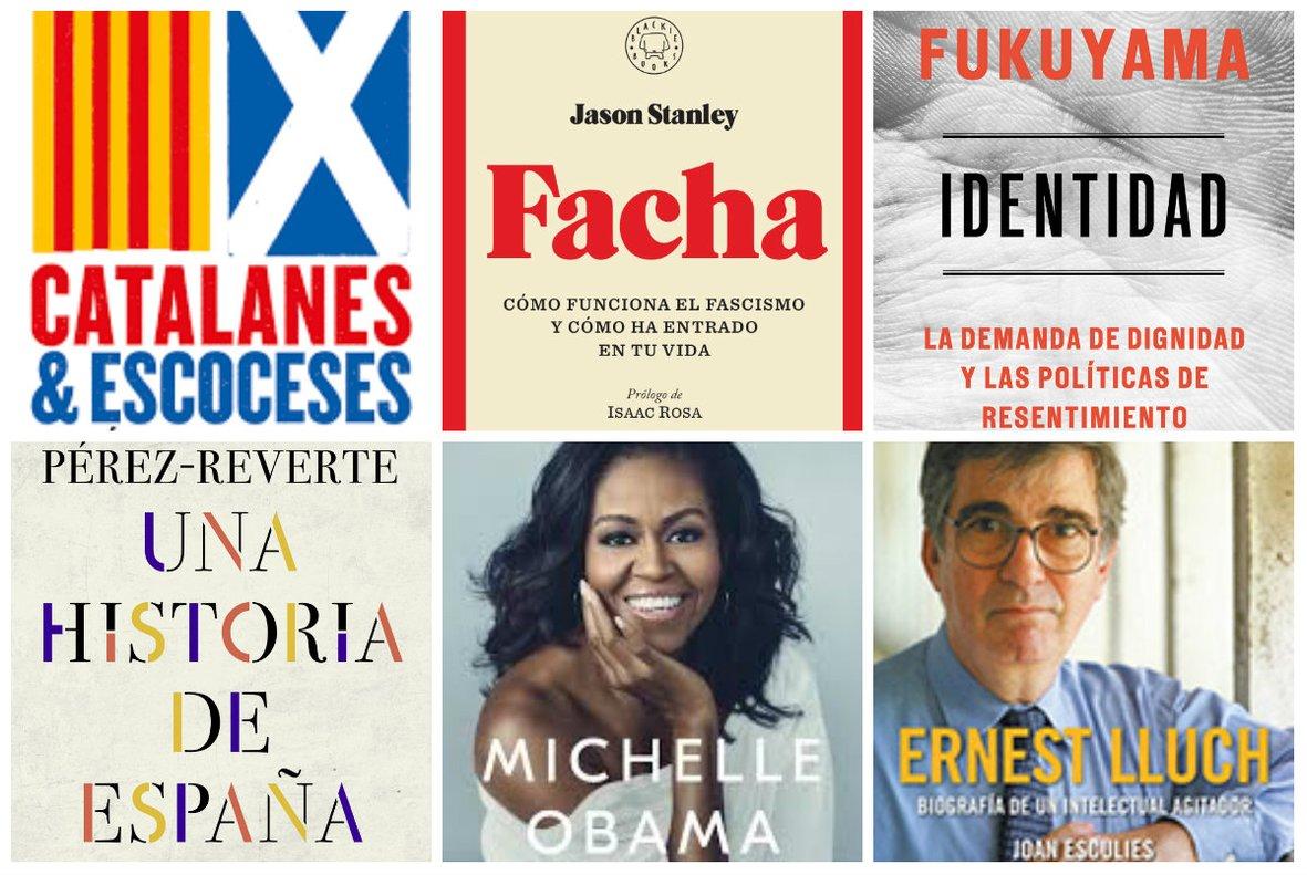Política: 13 llibres recomanats per a Sant Jordi 2019
