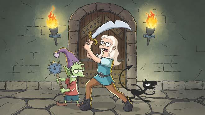 El '(Des)encanto' del padre de 'Los Simpson'
