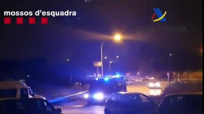 Despliegue policial en el Garraf y Martorell contra el tráfico de drogas.