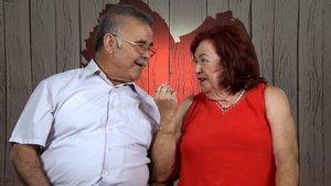 Diego y Mari Trini en 'First Dates'.