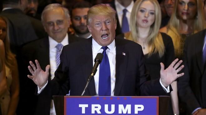 Trump se pone presidencial