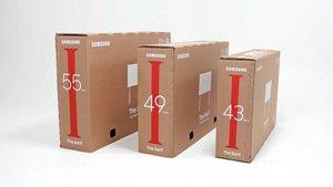 Samsung presenta la gamma de TV Lifestyle amb embalatge sostenible