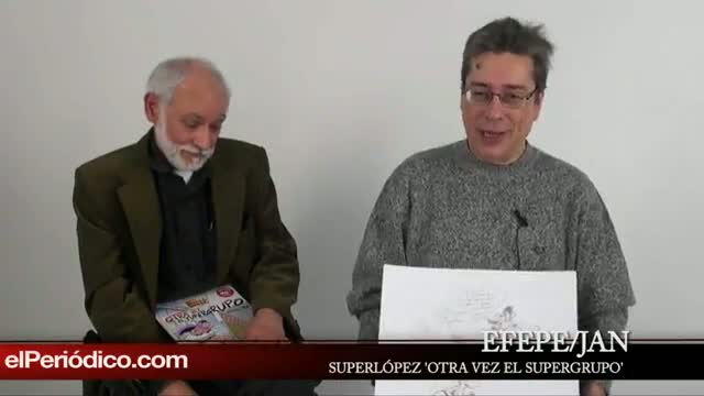 Vuelve SUPERLÓPEZ en el supergrupo, a peticion de la editorial.