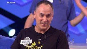 Erundino, integrante de 'Los Lobos' en 'Boom'.