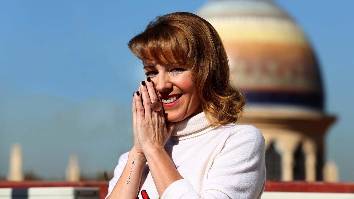 La actriz Eva Llorach, protagonista de Quién te cantará.
