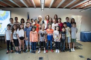 El Foro Petits Talents Científics descubre esta disciplina a los alumnos de Esplugues.