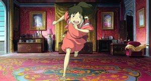 Fotograma del filme de animación 'El viaje de Chihiro'.
