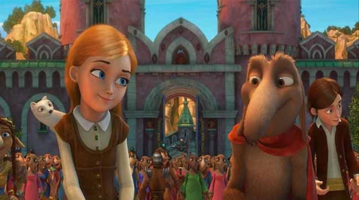 Fotograma de 'Orm en el reino de las nieves'.