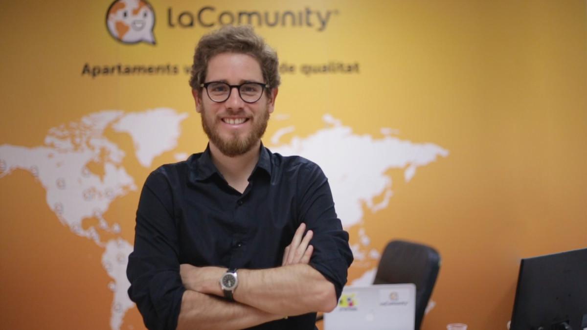 Francesc Sanz, fundador de LaComunity.