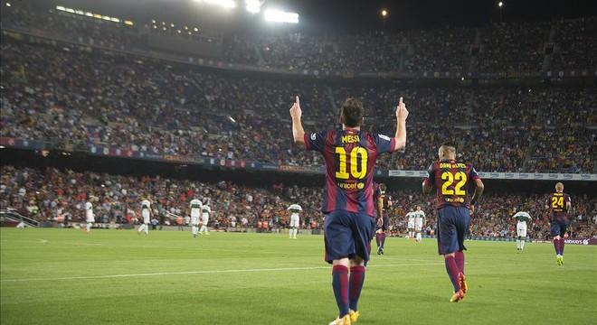 Messi, la mano de oro