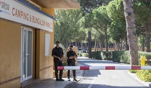 La Guardia Civil del 1-O se aloja en el cámping de L'Escala de un exedil del PDECat