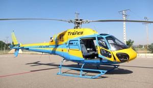 Un helicóptero de la DGT de Tráfico.