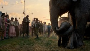 Una imagen de 'Dumbo', de Tim Burton.