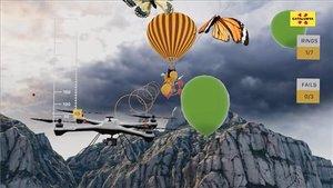 Captura de pantalla del videojuego de realidad virtualLegends of Catalonia