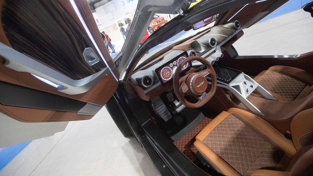 Interior del Hispano-Suiza Carmen.