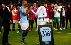 El City-Brighton del 9 mayo sirvió de adiós a Touré Yaya.