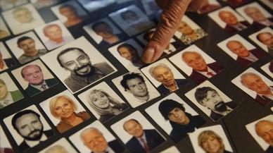 Los famosos de Barcelona en foto de carnet
