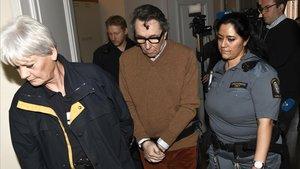 Jean-Claude Arnault, el pasado 12 de noviembre en el juzgado de Estocolmo