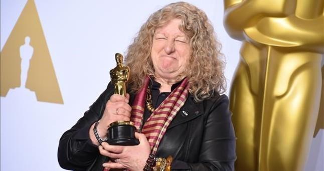 Jenny Beavan, ganadora del Oscar al Mejor Vestuario.