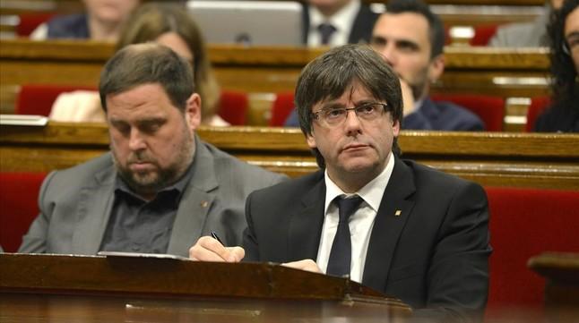 Puigdemont tomará medidas sobre ATLL y Rosell si se prueban irregularidades