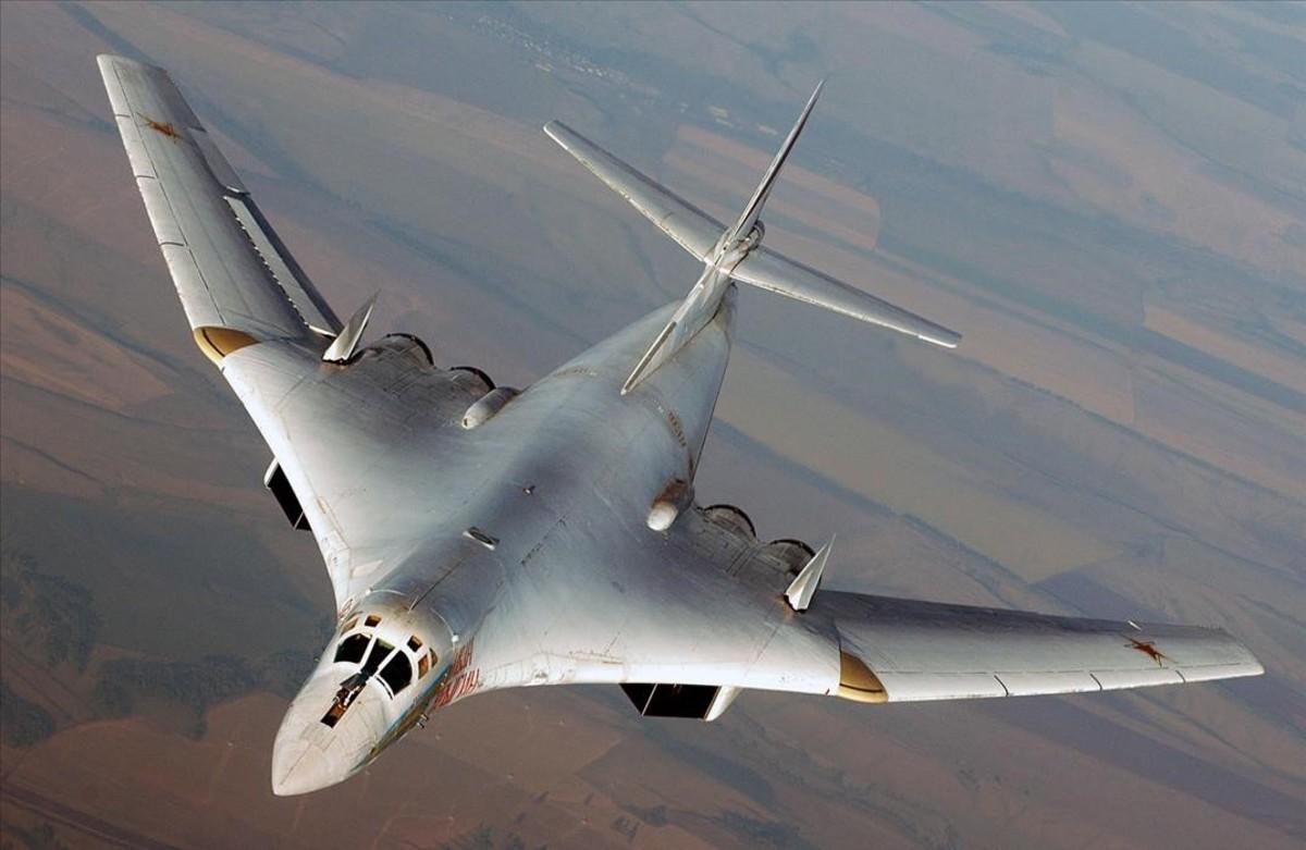 Bombardero ruso Tupolev 160.