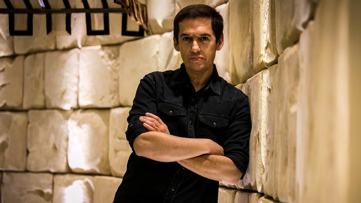 Jorge Ruiz, cantante de Maldita Nerea