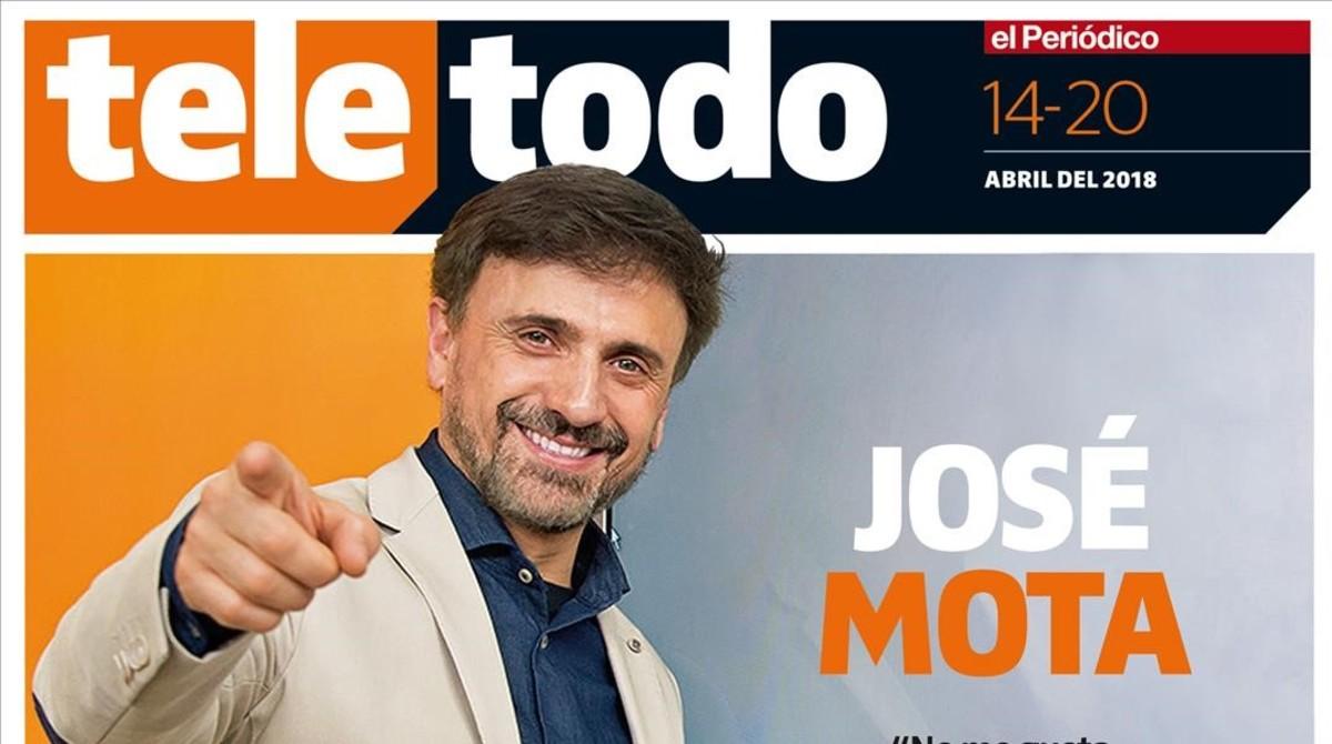 Portada de Teletodo protagonizada por José Mota.