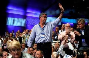 Xavier García Albiol, en el congreso nacional del PP.