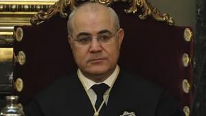 El juez del Tribunal Supremo, Pablo Llarena, en una imagen de archivo.