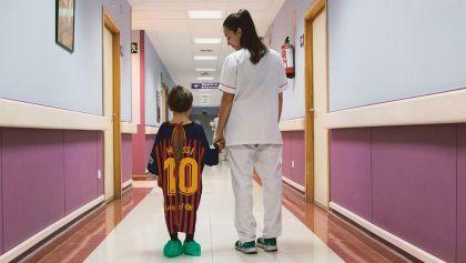 Una campanya converteix les samarretes dels jugadors en bates d'hospital per a nens