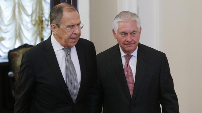 Lavrov i Tillersonvan expressar el seu desig d'aclarir les seves respectives posicions en assumptes clau com el conflicte sirià.