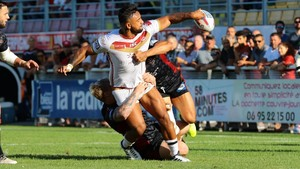 Los Dragons Catalans, en un partido reciente.