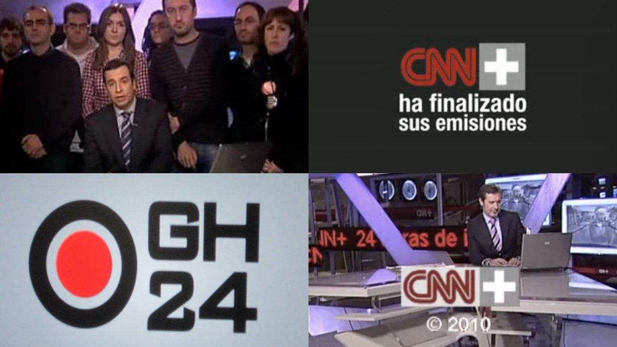 Los últimos minutos de emisión de CNN+.