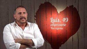 Luis en 'First Dates'.