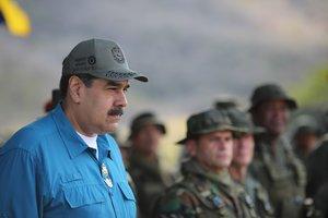 El presidente Nicolas Madurodurante un acto de gobierno celebradoen TuriamoVenezuela.EFEPrensa Miraflores