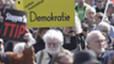 Manifestación contra el TTIP en Stuttgart (Alemania), el pasado 18 de abril.