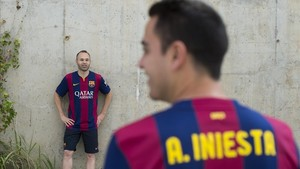 """""""Andrés, ets un tio amb encant"""" (Xavi escriu una carta de comiat a Iniesta)"""