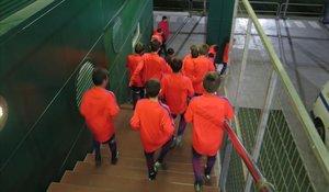 Una familia olvida recoger al hijo pequeño y este acaba internado en La Masia del Barça