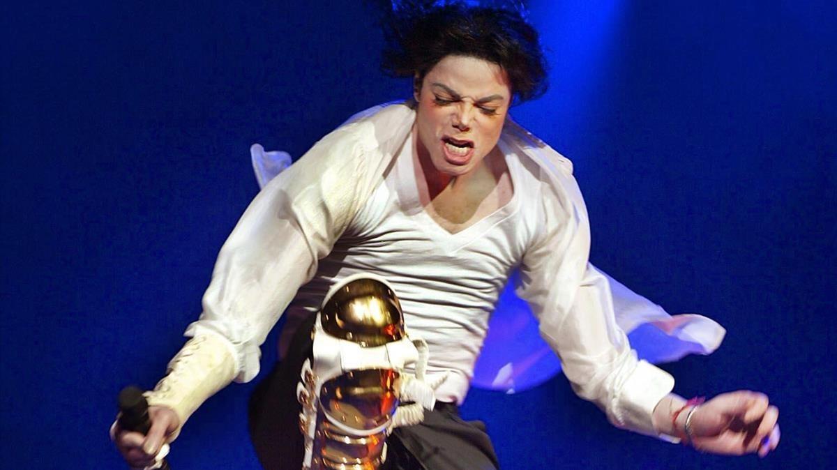 Michael Jackson en una foto de archivo