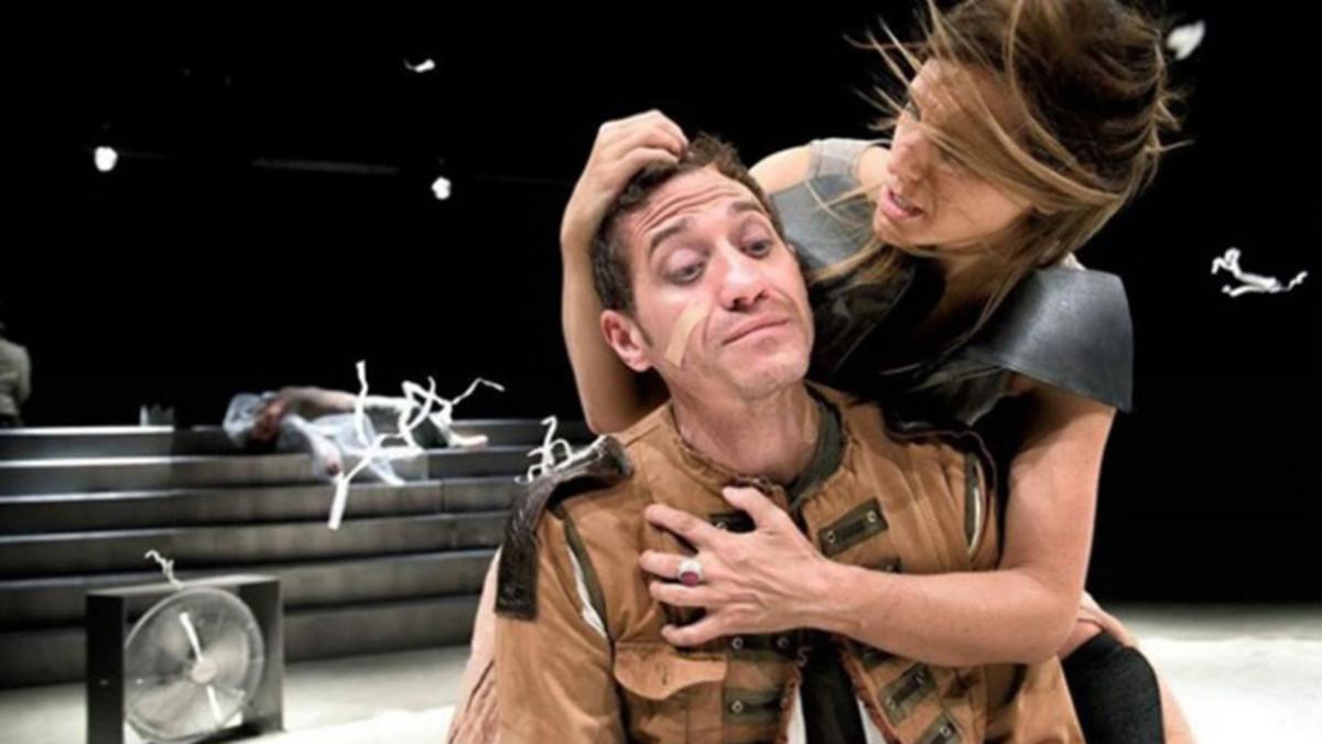 Un momento de la representación de 'Macbeth'