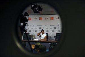 Rafael Nadal, en Madrid.