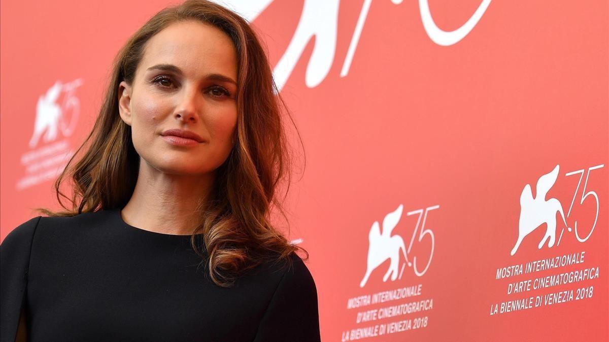 Natalie Portman, en la presentación de 'Vox Lux' en Venecia