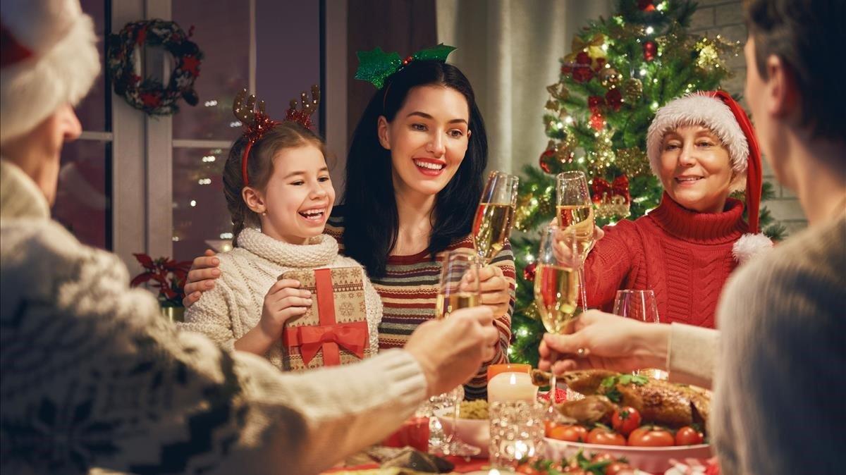 Sobrevive a las cenas de Navidad en familia