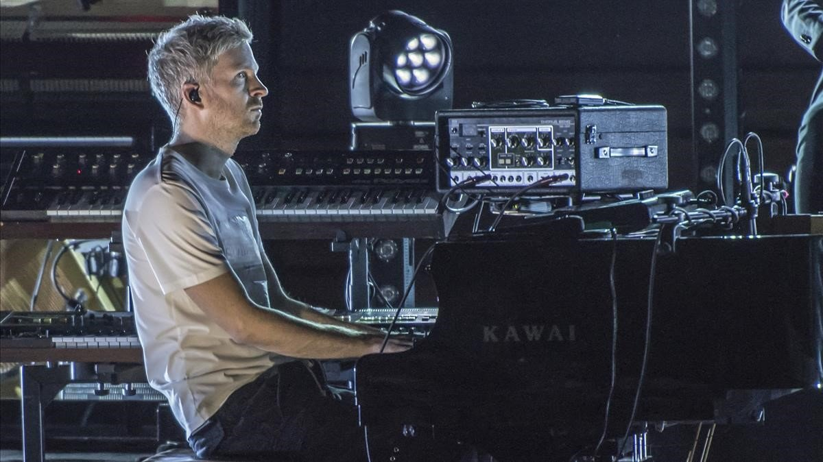 Ólafur Arnalds, durante el concierto que ofreció el viernes en el Palau de la Música