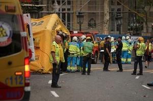 Un muerto y varios atrapados y heridos en un derrumbe en las obras del hotel Ritz de Madrid
